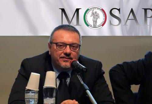 Conestà (Mosap) su discorso Gabrielli: «Le parole del Capo della Polizia grande riconoscimento all'impegno dei colleghi»