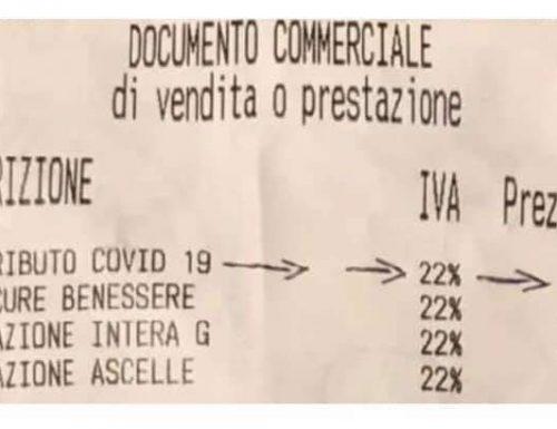 Tassa Covid, da 2 a 4 euro sugli scontrini. Ecco di cosa si tratta