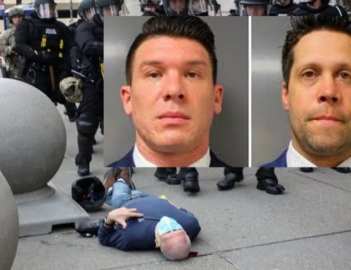 Rilasciati i 2 agenti Usa che hanno spinto a terra manifestante 75enne, i colleghi li applaudono