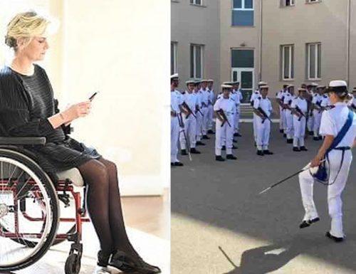 """Fiamma Satta: """"il video del ballo della Marina, mi ha fatto venire voglia di ballare"""""""