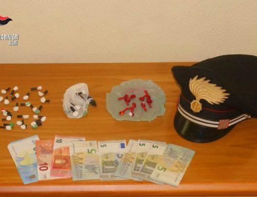 Nascondeva droga sul soppalco di casa. Arrestato dai Carabinieri